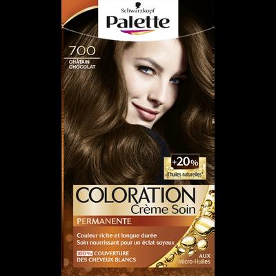 Coloration permanente châtain chocolat n°700 Schwarzkopf PALETTE