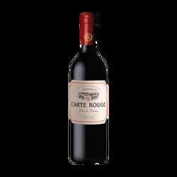 Vin rouge France CARTE ROUGE, 75cl