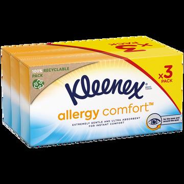 Kleenex Déodorant Allergy Kleenex Boîtes 56x3