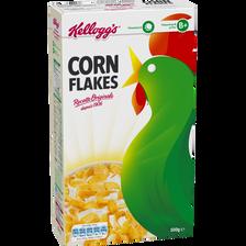 Céréales corn flakes KELLOG'S, paquet de 500g