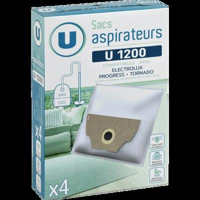 SAC ASPIRATEUR U SU1200 X4