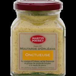 Moutarde d'Orléans onctueuse aux graines Val Loire, POURET, 200g
