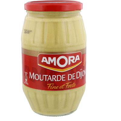 Moutarde forte AMORA, bocal de 915g