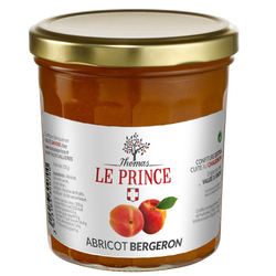 Confiture extra d'abricot THOMAS LE PRINCE, 350g