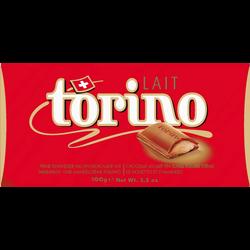 Chocolat au lait Torino CAMILLE BLOCH, tablette de 100g