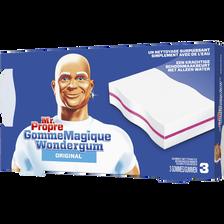 Nettoyant gomme magique original MR PROPRE, x3