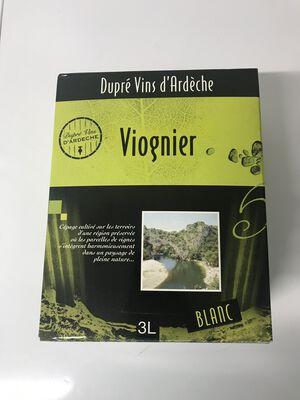 Viognier BIB 3L dupré vins d'Ardèche