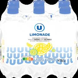 Limonade U, 6 bouteilles de 33cl
