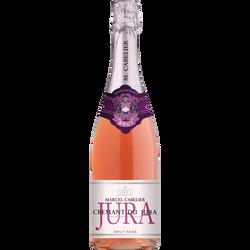Crémant du Jura brut rosé AOC, MARCEL CABELIER, bouteille de 75cl