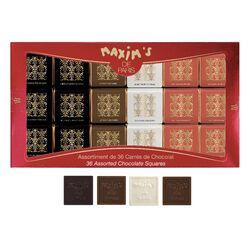 Étui 36 Carrés chocolat assortis MAXIM'S DE PARIS EPICURE Sélection