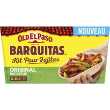 Kit fajitas barquitas original barbecue OLD EL PASO, 367g