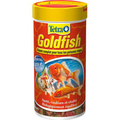 Aliment pour poissons rouges Goldfish TETRA, boite de 52g