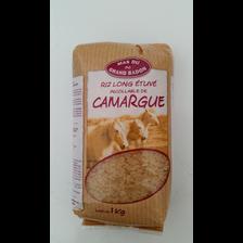 Riz long incollable de Camargue GRAND BADON, 1kg