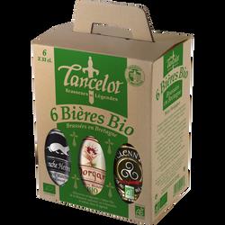 Bière Blanche de froment Hermine LANCELOT, 4°, 6 bouteille de 33cl