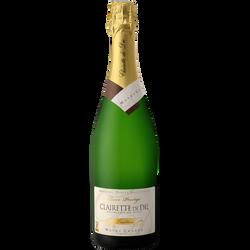 Clairette de Die brut Monge Granon Tradition Prestige, bouteille de  75cl