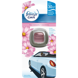 Désodorisant diffuseur pour voiture parfum fleurs naissantes FEBREZE