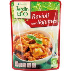 Ravioli aux légumes en sachet Jardion Bio - 250g
