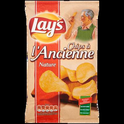 Chips à l'ancienne nature LAY'S, sachet de 150g