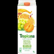 Tropicana Pur Jus Réfrigéré Orange Mandarine Raisin Réveil Fruité Tropicana, Brique De 1 Litre