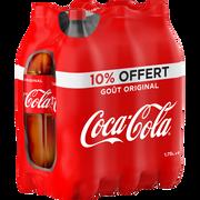 Coca Cola , Bouteille En Plastique 6 X 1,75 Litre
