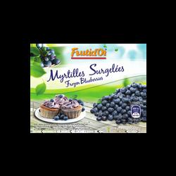 Myrtilles sauvages FRUTID'OR, 450g