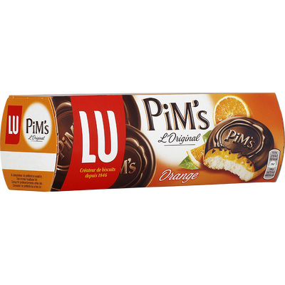 PIM'S fondant orange, Lu paquet 150g