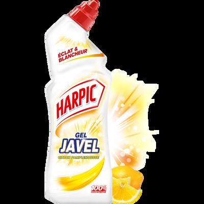 Nettoyant gel javel triple action citron-pamplemousse HARPIC, 750ml