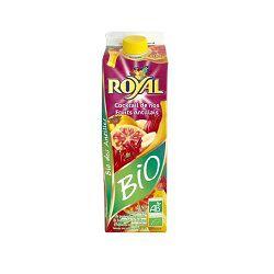 Boisson cocktail de nos fruits antillais BIO, ROYAL, 1l