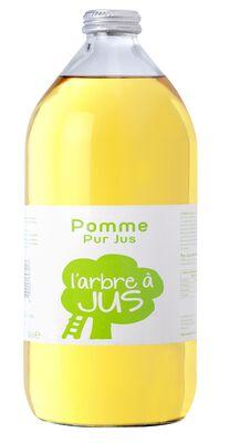 Jus de pomme L'ARBRE A JUS, bouteille de 1l