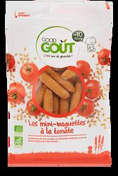 LES MINI-BAGUETTES A LA TOMATE - GOOD GOUT
