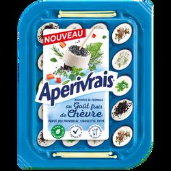 Fromage lait pasteurisé de chèvre 30% de matière grasse APERIVRAIS, 100g