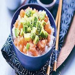 Chirashi au saumon, FABRICATION MAISON