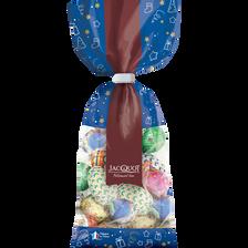 Moulages sapin décorés en chocolat au lait JACQUOT, x16 , 200g
