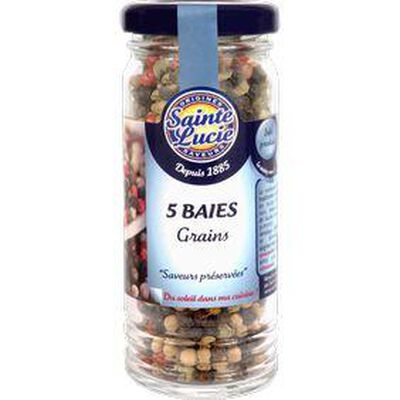 5 Baies grains