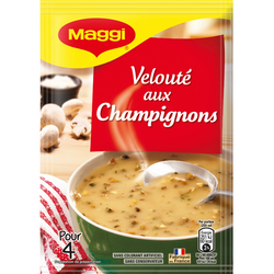Soupe déshydratée velouté de champignons bois MAGGI, 67g, 1l