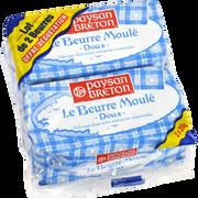 Paysan Breton Beurre Moulé Doux 82%mg Paysan Breton 2x250g