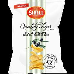 Quality chips cuites au chaudrons à l'huile d'olive, SIBELL, 120g