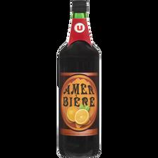Liqueur Amer bière U, 18°, bouteille de  1l
