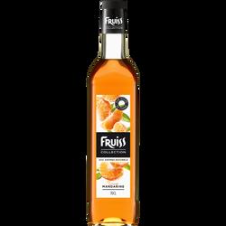 Sirop à la mandarine FRUISS COLLECTION, bouteille de 70cl