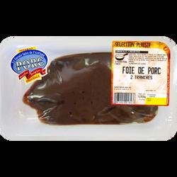 Foie porc, METRAS, 2 pièces