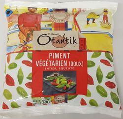 Piments doux végétariens surgelé OTANTIK, sachet de 300G