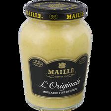 Maille Moutarde L'original Fine De Dijon , Bocal De 380g