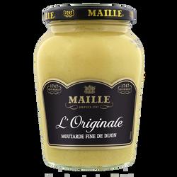 Moutarde l'original fine de Dijon MAILLE, bocal de 380g