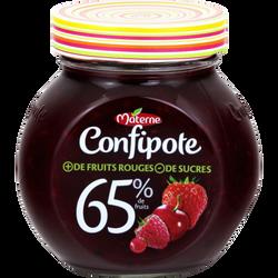 Confipote aux 4 fruits rouges MATERNE, 350g
