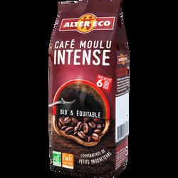 Café moulu intense 100% pu arabica et robusta Bio ALTER ECO, 250g