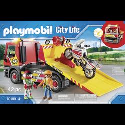 Playmobil City Life - Camion de dépannage - 70199 - Dès 4 ans