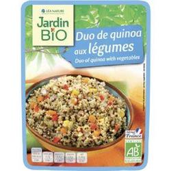 Jb duo de quinoa aux légumes bio JARDIN BIO doypack 250g