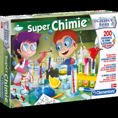 SUPER CHIMIE CLEMENTONI-FONCTIONNE AVEC 3 PILES AA INCLUSES