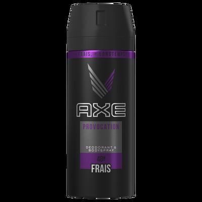 Déodorant provocation AXE, spray de 150ml