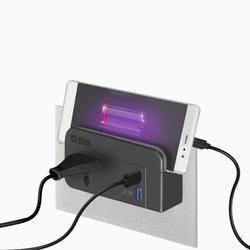 CABLE DE SYNCHRONISATION ET CHARGE USB 3.0 SBS VERS TYPE C